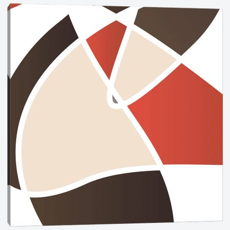 Look Through The Stain Mate Canvas Print #ORE51} by On Rei Canvas Wall Art