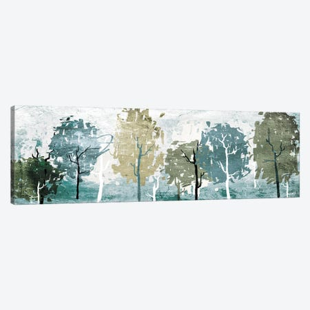 Abstract Forest Canvas Print #ORE8} by On Rei Canvas Wall Art