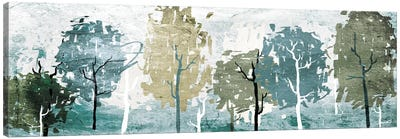 Abstract Forest Canvas Art Print