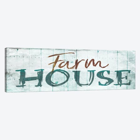 Farm House Canvas Print #ORE9} by On Rei Canvas Wall Art