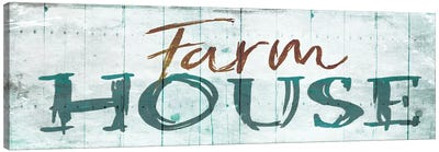 Farm House Canvas Art Print