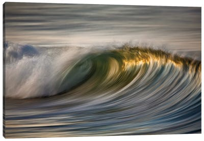 Curling Wave Canvas Art Print