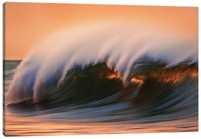 Dark Breaking Wave Canvas Art Print