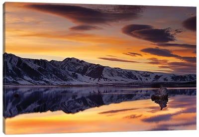 Mono Lake Sunset Canvas Art Print