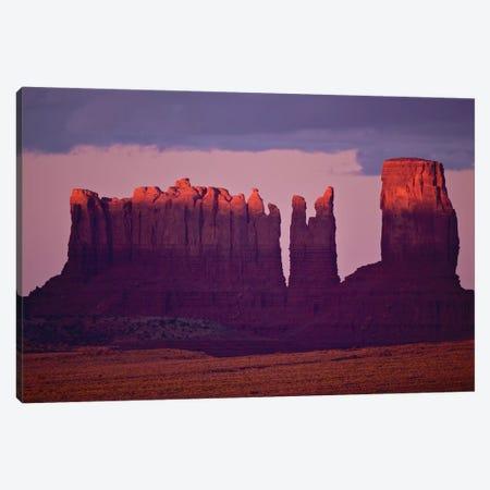 Monument Valley Alspen Glow Canvas Print #ORI19} by David Orias Canvas Artwork