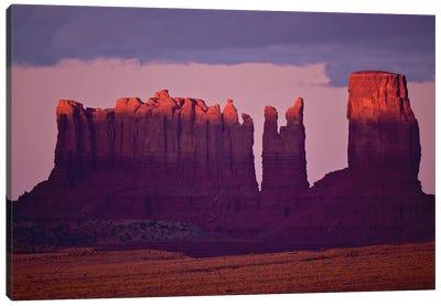 Monument Valley Alspen Glow Canvas Art Print