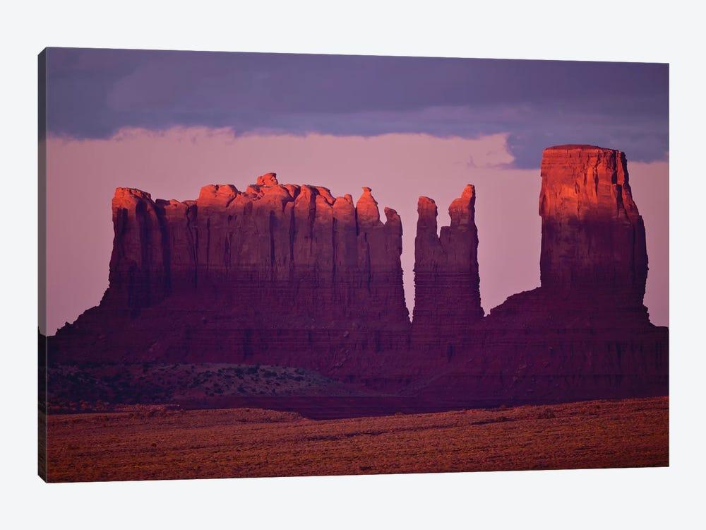 Monument Valley Alspen Glow by David Orias 1-piece Canvas Artwork