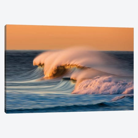 Multiple Waves Canvas Print #ORI20} by David Orias Canvas Print