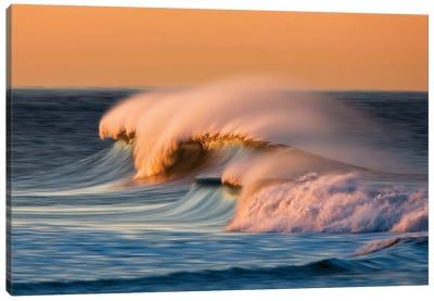 Multiple Waves Canvas Art Print