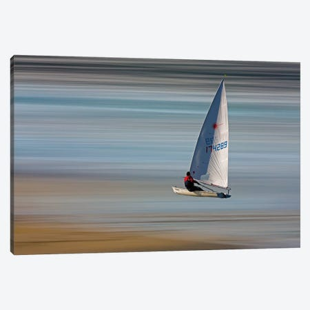 Surreal Sailboat Canvas Print #ORI38} by David Orias Canvas Art