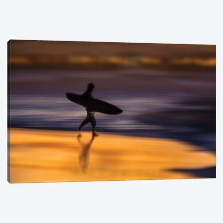 Surreal Surfer Canvas Print #ORI39} by David Orias Canvas Artwork