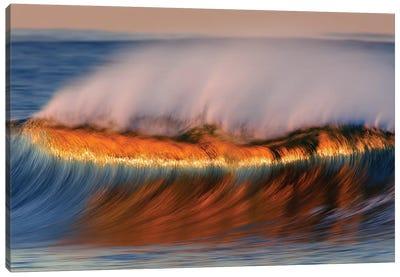 Beautiful Dawn Wave Canvas Art Print