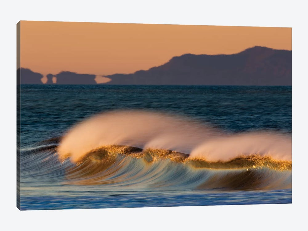 Wave and Islands by David Orias 1-piece Canvas Art Print
