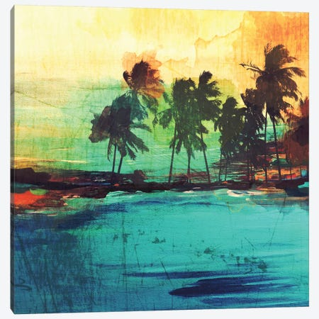 Palm Island VI Canvas Print #ORL102} by Irena Orlov Art Print