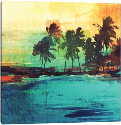 Palm Island VI Canvas Print #ORL102