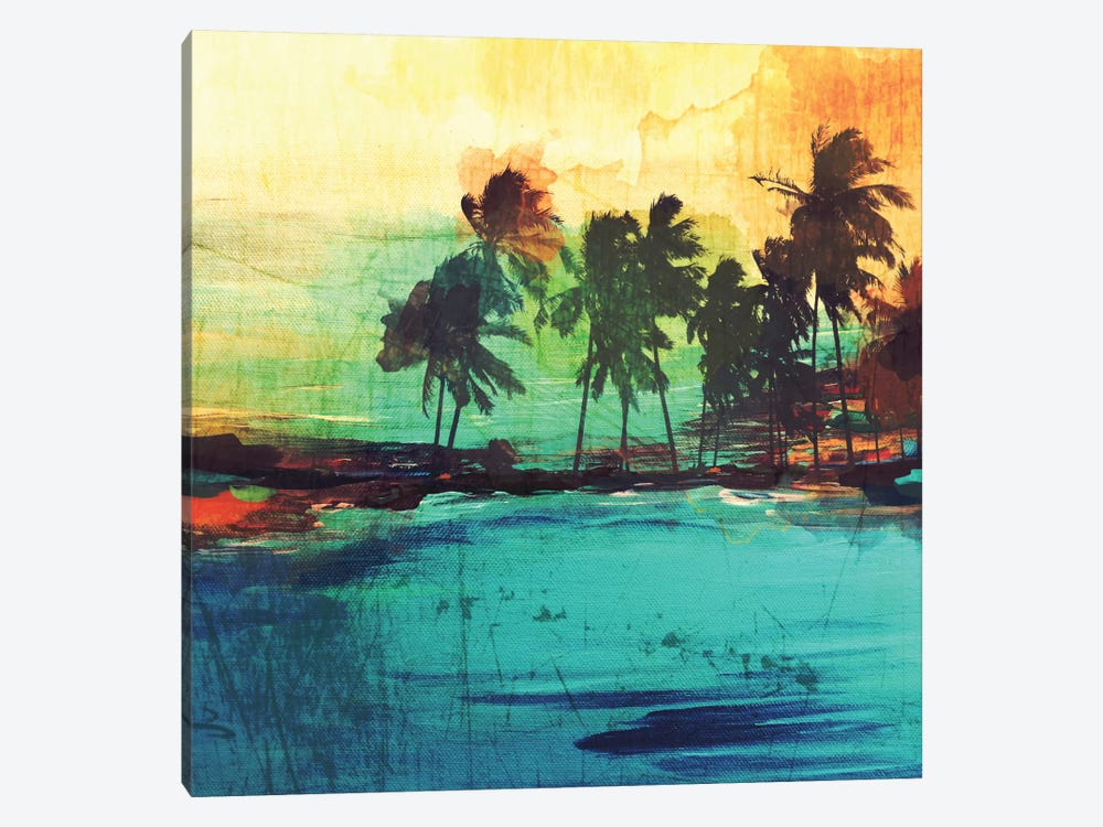 Palm Island VI by Irena Orlov 1-piece Canvas Art