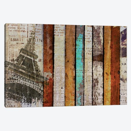 Paris, Paris Canvas Print #ORL104} by Irena Orlov Canvas Art