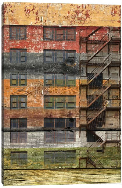 Building III Canvas Art Print