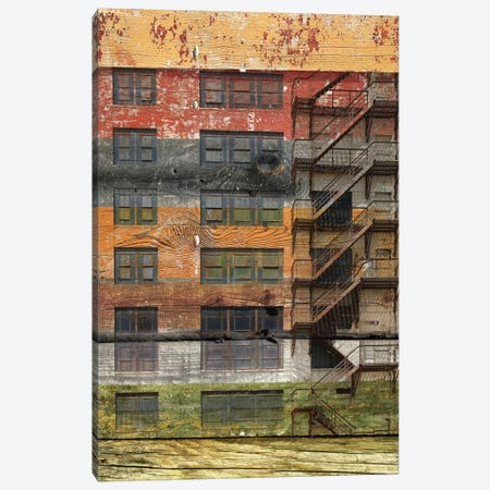Building III Canvas Print #ORL10} by Irena Orlov Canvas Print