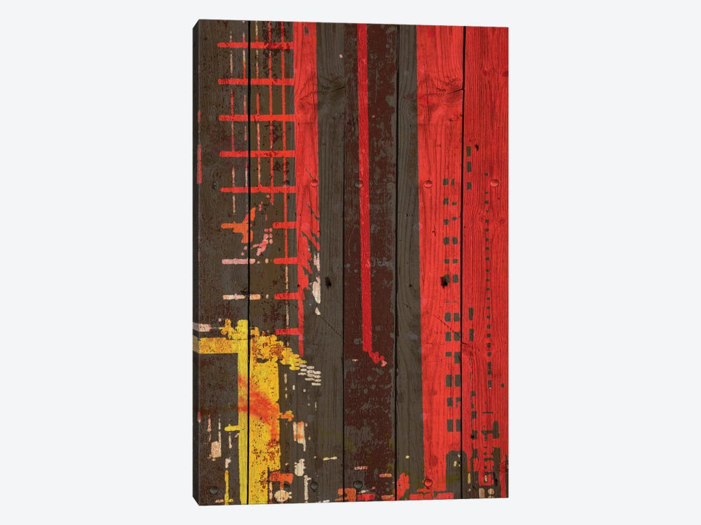 Red Building II by Irena Orlov 1-piece Canvas Print