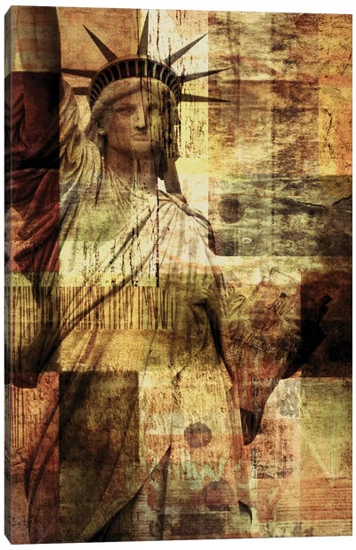 Statue Of Liberty Canvas Print #ORL111
