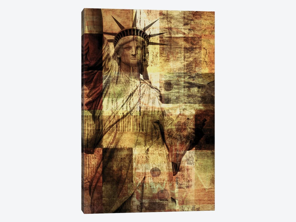 Statue Of Liberty by Irena Orlov 1-piece Canvas Artwork