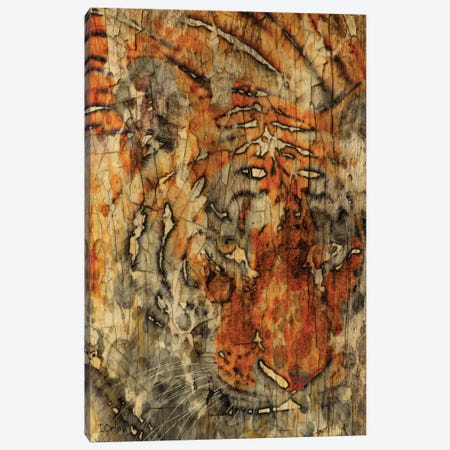Sumatran Tiger Canvas Print #ORL112} by Irena Orlov Canvas Wall Art