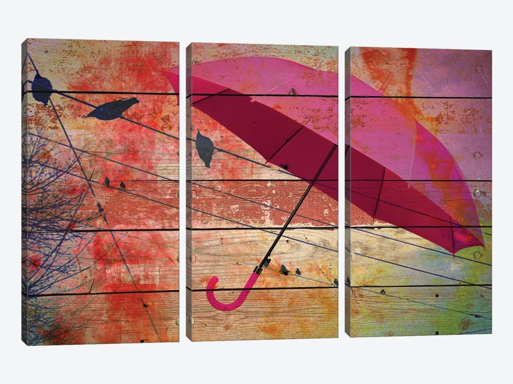 Summer Day II by Irena Orlov 3-piece Canvas Wall Art