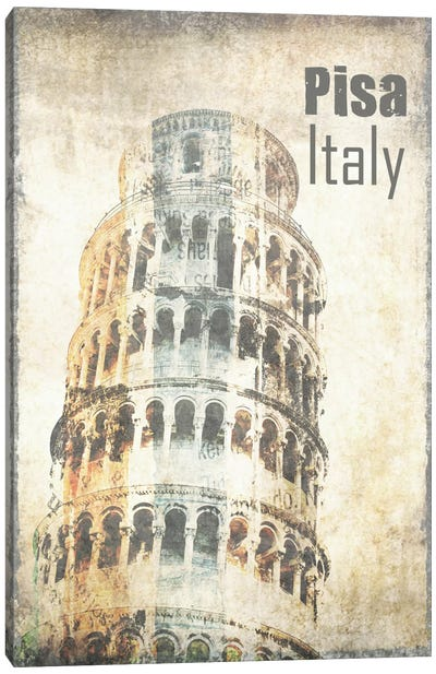 Tower Of Pisa Canvas Print #ORL116