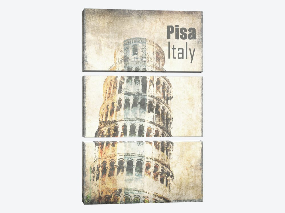 Tower Of Pisa by Irena Orlov 3-piece Art Print