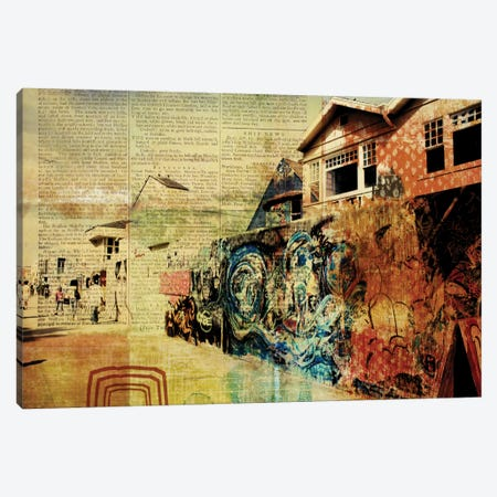 Venice Beach Boardwalk Art Wall Canvas Print #ORL118} by Irena Orlov Canvas Wall Art
