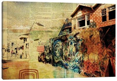 Venice Beach Boardwalk Art Wall Canvas Print #ORL118