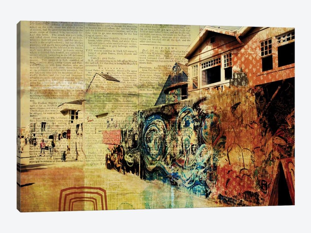 Venice Beach Boardwalk Art Wall Canvas Art by Irena Orlov   iCanvas