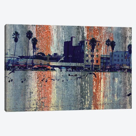 Venice Beach, Los Angeles Canvas Print #ORL119} by Irena Orlov Canvas Wall Art