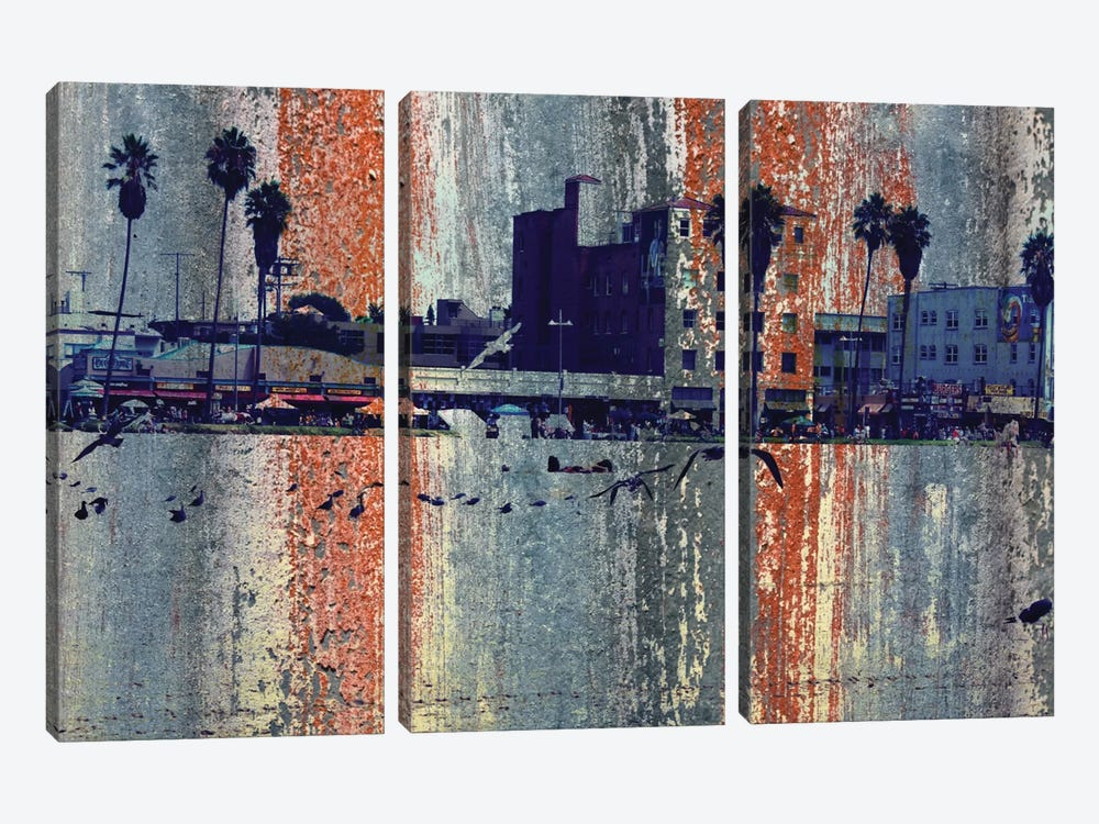 Venice Beach, Los Angeles by Irena Orlov 3-piece Canvas Art