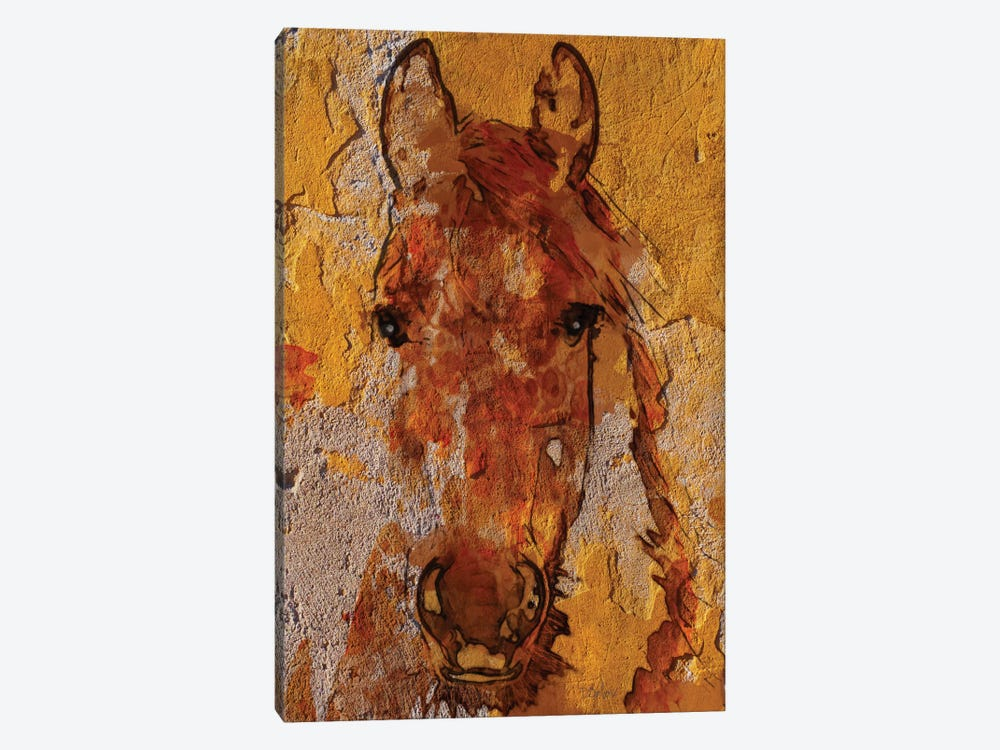 Yellow Horse by Irena Orlov 1-piece Art Print