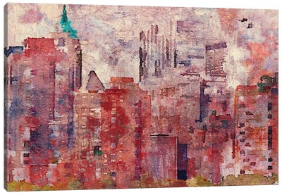 Colorful New York II Canvas Art Print