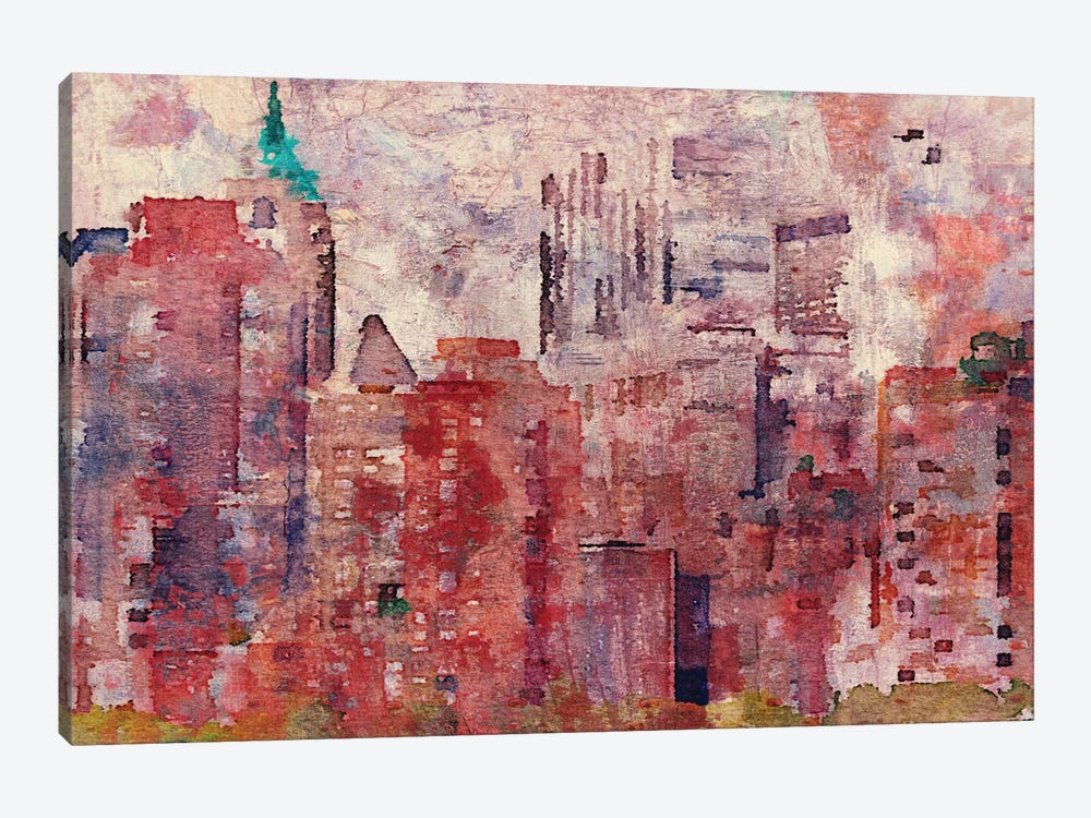 Colorful New York II by Irena Orlov 1-piece Canvas Print