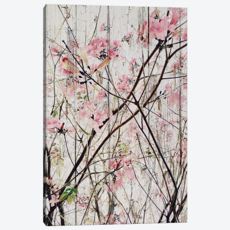 Here's The Spring 3-Piece Canvas #ORL131} by Irena Orlov Canvas Artwork
