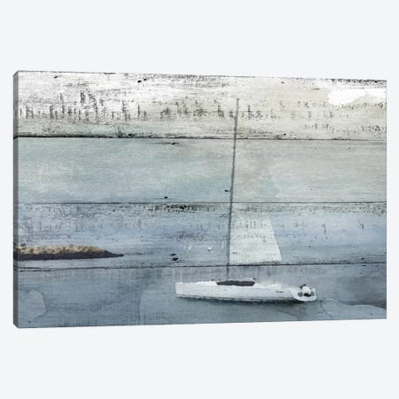 La Barque Neptune Canvas Print #ORL133} by Irena Orlov Canvas Artwork