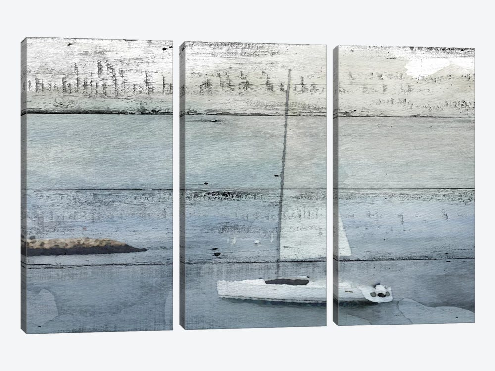 La Barque Neptune by Irena Orlov 3-piece Canvas Art