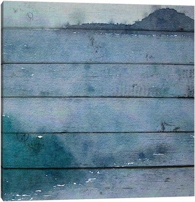 On A Misty Spring Morning Canvas Art Print