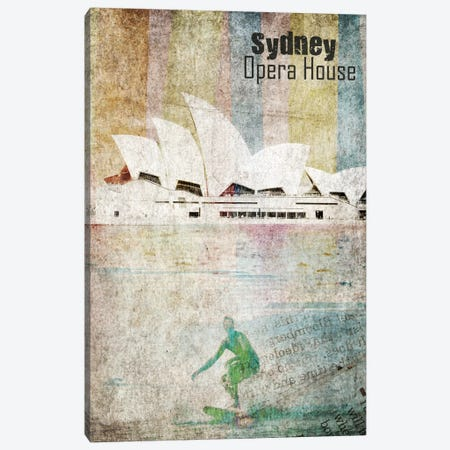 Opera House, Sydney Canvas Print #ORL137} by Irena Orlov Canvas Art Print