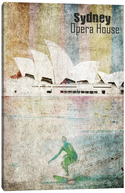 Opera House, Sydney Canvas Print #ORL137