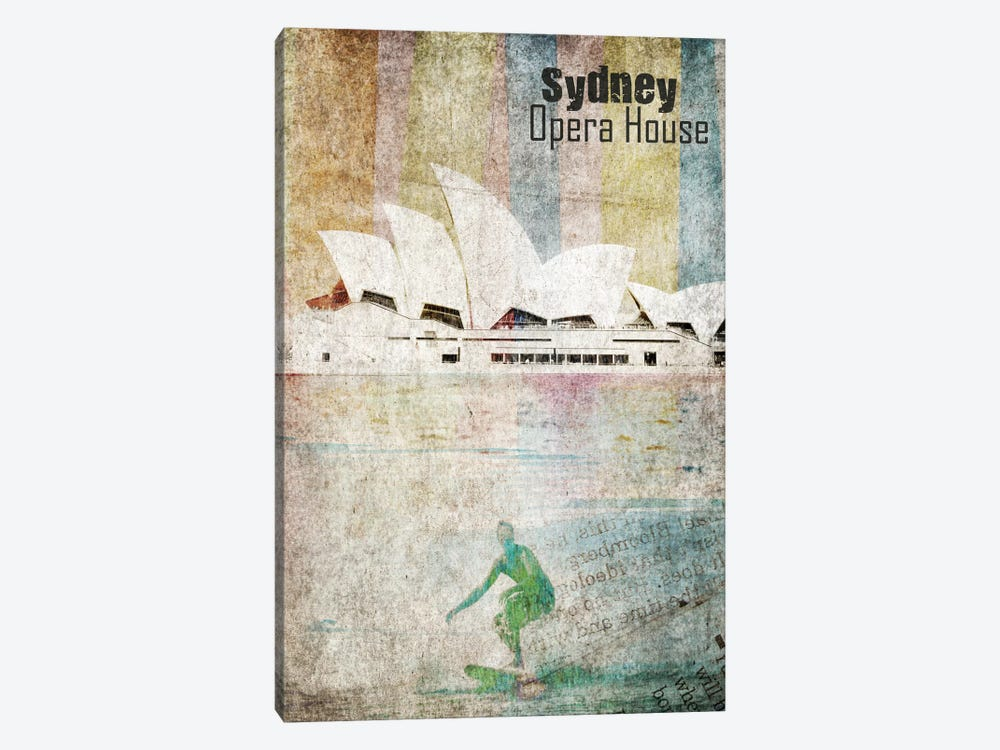 Opera House, Sydney by Irena Orlov 1-piece Canvas Artwork