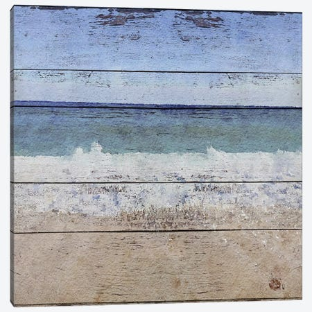 Seascape I Canvas Print #ORL139} by Irena Orlov Canvas Wall Art