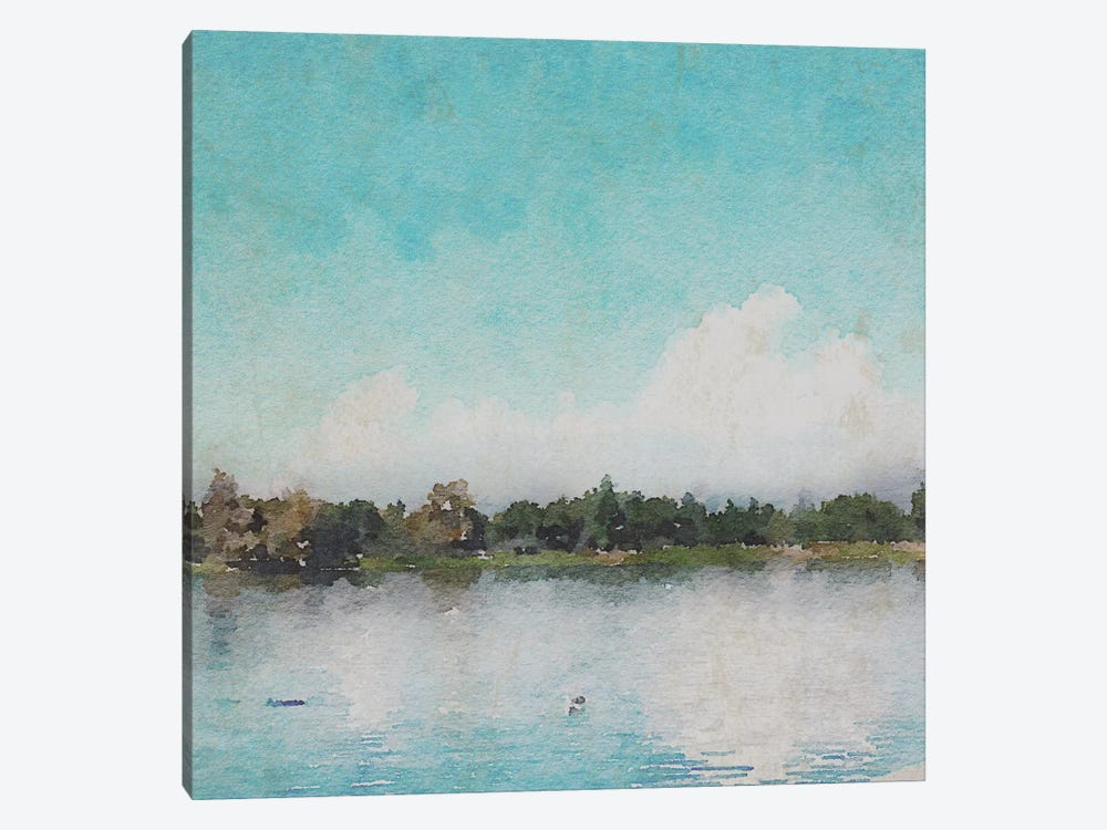 Sunrise In A Lake by Irena Orlov 1-piece Canvas Art