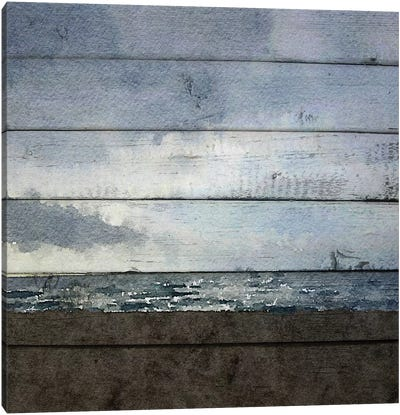 Winter Shadows Canvas Art Print