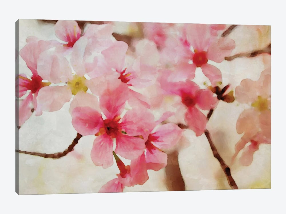 Cherry Flowers II by Irena Orlov 1-piece Art Print