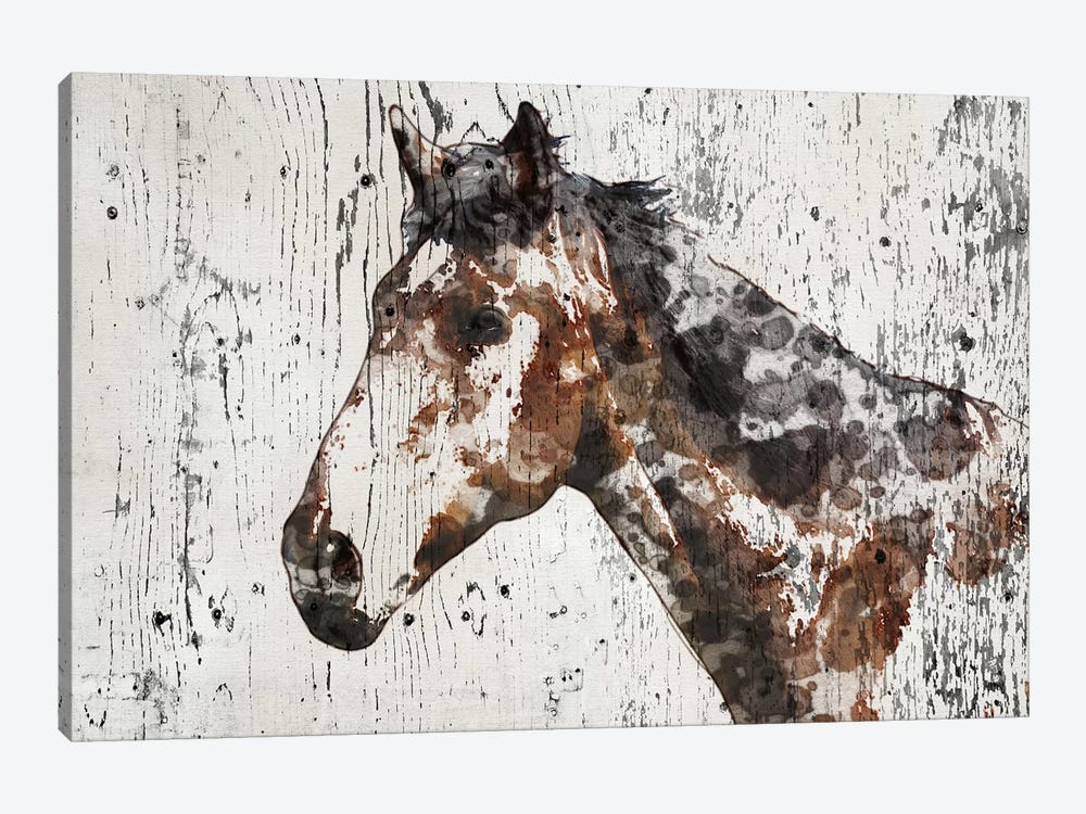 Galaxy Horse II 1-piece Art Print